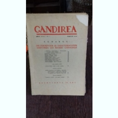 REVISTA GANDIREA NR.3/MARTIE 1938