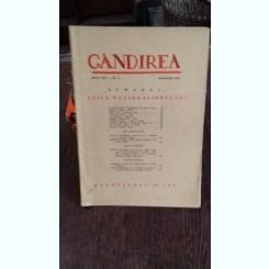 REVISTA GANDIREA NR.9/NOIEMBRIE/1937