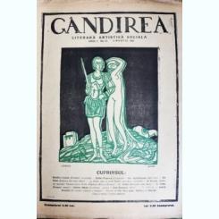 Revista Gandirea,Anul 1,martie 1922