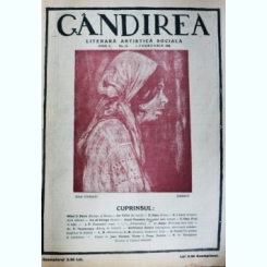 Revista Gandirea,Anul 1,Nr.19,februarie 1922