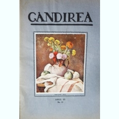 Revista Gandirea,Anul III,NR.15,Vedenia de Gib Mihaescu,inedita