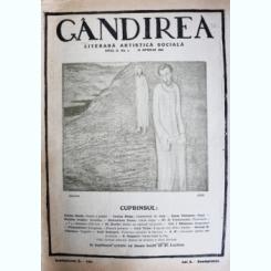 Revista Gandirea,Anul II,NR.1,aprilie,1922