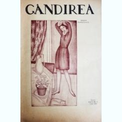 Revista Gandirea,Anul II,NR.4,martie,1922