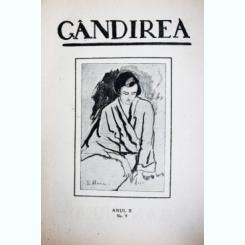 Revista Gandirea,Anul II,Nr.9,decembrie 1922