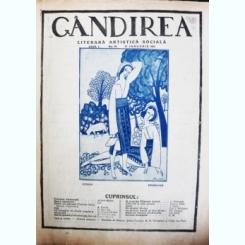 Revista Gandirea,Anul I,NR.18.IANUARIE 1922
