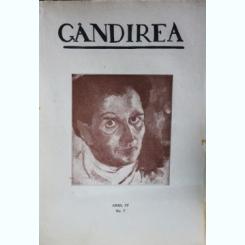 Revista Gandirea,Anul IV,NR.7,Ianuarie 1925