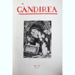 Revista Gandirea,Anul VIII,NR.15,DECEMBRIE,1928