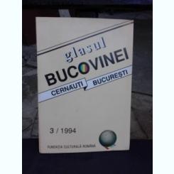 REVISTA GLASUL BUCOVINEI, CERNAUTI BUCURESTI, NR.3/1994