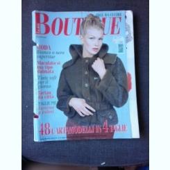 REVISTA LA MIA BOUTIQUE  NR3/1997, TEXT IN LIMBA ITALIANA  (REVISTA DE MODA)
