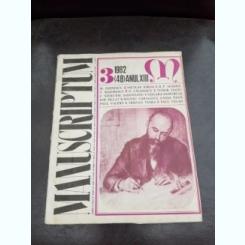 REVISTA MANUSCRIPTUM NR.3/1982