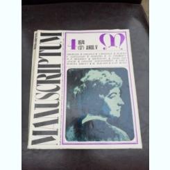 REVISTA MANUSCRIPTUM NR.4/1974