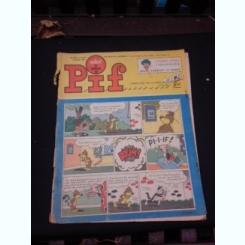 Revista Pif nr.1105/1966, text in limba franceza