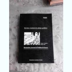 REVISTA ROMANA DE STIINTE POLITICE, VOL.I NR.1/2001