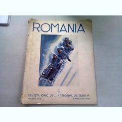 REVISTA ROMANIA NR.2/FEBRUARIE 1938  (REVISTA OFICIULUI NATIONAL DE TURISM)