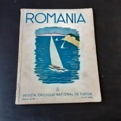 REVISTA ROMANIA NR.7/IULIE 1938  (REVISTA OFICIULUI NATIONAL DE TURISM)