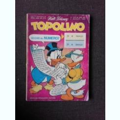 REVISTA TOPOLINO NR. 1214/1979, REVISTA CU BENZI DESENATE, PENTRU COPII (TEXT IN LIMBA ITALIANA)