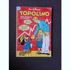 REVISTA TOPOLINO NR, 1520/1985, REVISTA CU BENZI DESENATE, PENTRU COPII (TEXT IN LIMBA ITALIANA)