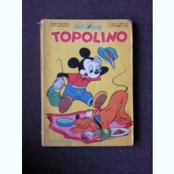 REVISTA TOPOLINO NR, 666/1968, REVISTA CU BENZI DESENATE, PENTRU COPII (TEXT IN LIMBA ITALIANA)