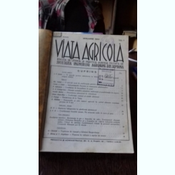 REVISTA VIATA AGRICOLA NR.1-12/1940