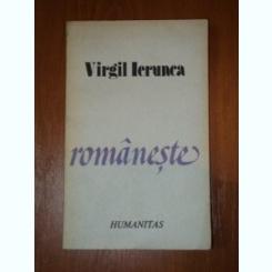 ROMANESTE-VIRGIL IERUNCA,BUC.1991