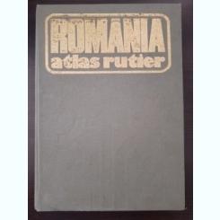 ROMANIA. ATLAS RUTIER 1979