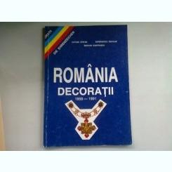 ROMANIA DECORATII 1859-1991 - CATONE STEFAN