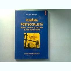 ROMANIA POSTSOCIALISTA - DAVID A. KIDECKEL