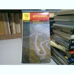 ROMANIA ROAD MAP - ROMANIA HARTA RUTIERA