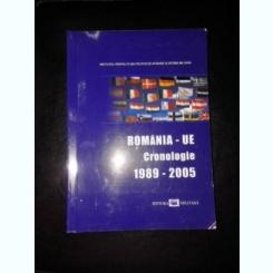 ROMANIA-UE, CRONOLOGIE 1989-2005
