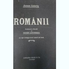 ROMANII- JAMES CATERLY CU 8 FOTOGRAFII AFARA DE TEXT