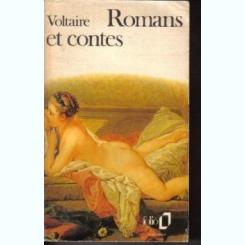 ROMANS ET CONTES - VOLTAIRE  (CARTE IN LIMBA FRANCEZA)