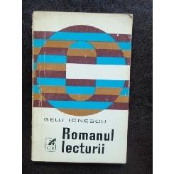 ROMANUL LECTURII - GELU IONESCU