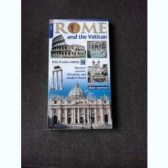 ROME AND THE VATICAN, GUIDE  (TEXT IN LIMBA ENGLEZA)
