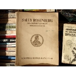 Sally Rosenberg , Versteigerungs = Katalog 64 , 1928