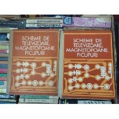 SCHEME DE TELEVIZOARE MAGNETOFOANE , PICUPURI , VOLUMUL 1 SI 2 , M. SILISTEANU
