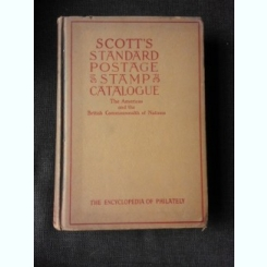 SCOTT'S STANDARD POSTAGE , STAMP, CATALOGUE. 1951  VOL.I  (TEXT IN LIMBA ENGLEZA)