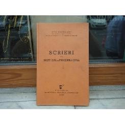Scrieri de drept civil si procedura civila , Ovid Sachelarie , 1938