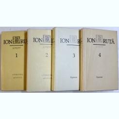SCRIERI DE ION DRUTA , VOL. I - IV , 1989 - 1990