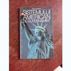 SCURTA DESCRIERE A SISTEMUL AMERICAN DE GUVERNAMANT