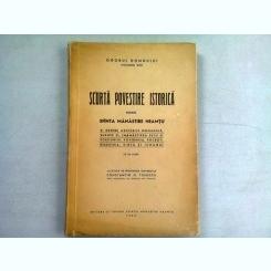 SCURTA POVESTIRE ISTORICA DESPRE SFINTA MANASTIRE NEAMTU - CONSTANTIN N. TOMESCU