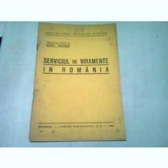 SERVICIUL DE VIRAMENTE IN ROMANIA - VALERIU POPP, STEFAN I. DUMITRESCU