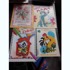 SET 4 CARTI DE COLORAT (DETALII IN DESCRIERE)