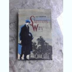 SHANNON'S WAY - A.J CRONIN  (CARTE IN LIMBA ENGLEZA)