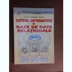 Sisteme informatice si baze de date relationale - Alexandru A. Popovici