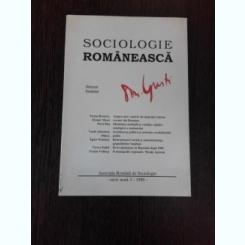 SOCIOLOGIE ROMANEASCA NR.3/1999 - D. GUSTI director fondator