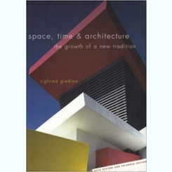SPACE, TIME & ARCHITECTURE - SIGFRIED GIEDION  (CARTE IN LIMBA ENGLEZA)