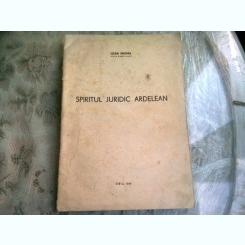 SPIRITUL JURIDIC ARDELEAN - IOAN FRUMA