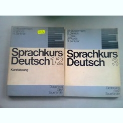 SPRACHKURS DEUTSCH  (CURS DE LIMBA GERMANA) - U. HAUSSERMANN  3 VOLUME