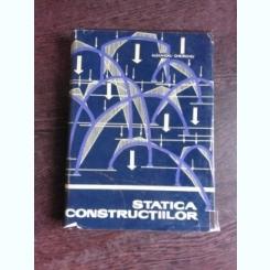 STATICA CONSTRUCTIILOR - ALEXANDRU A. GHEORGHIU