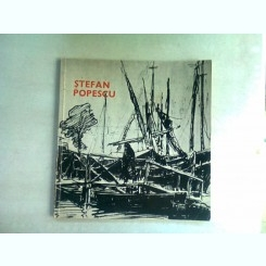 STEFAN POPESCU - CATALOG EXPOZITIE GRAFICA, 1969